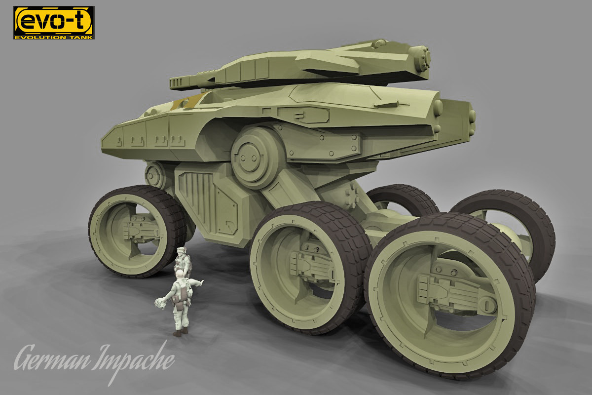 German impache scarabeo turbo tank5
