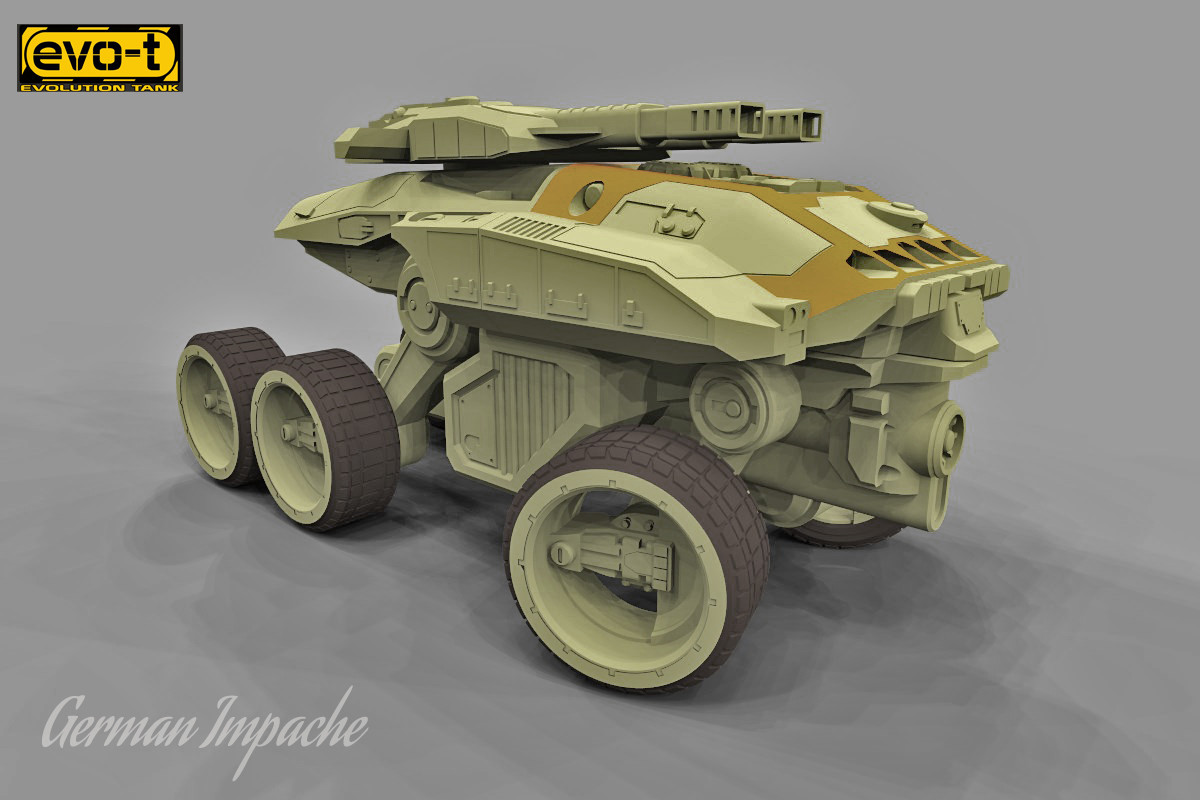 German impache scarabeo turbo tank7