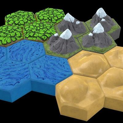 Hex Tile Set