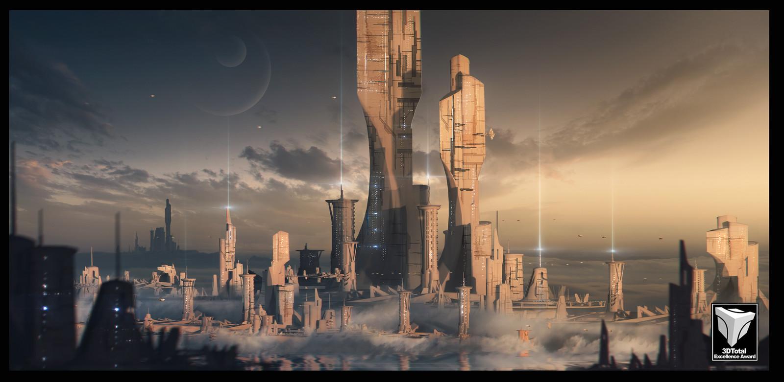 Master class - sci fi city