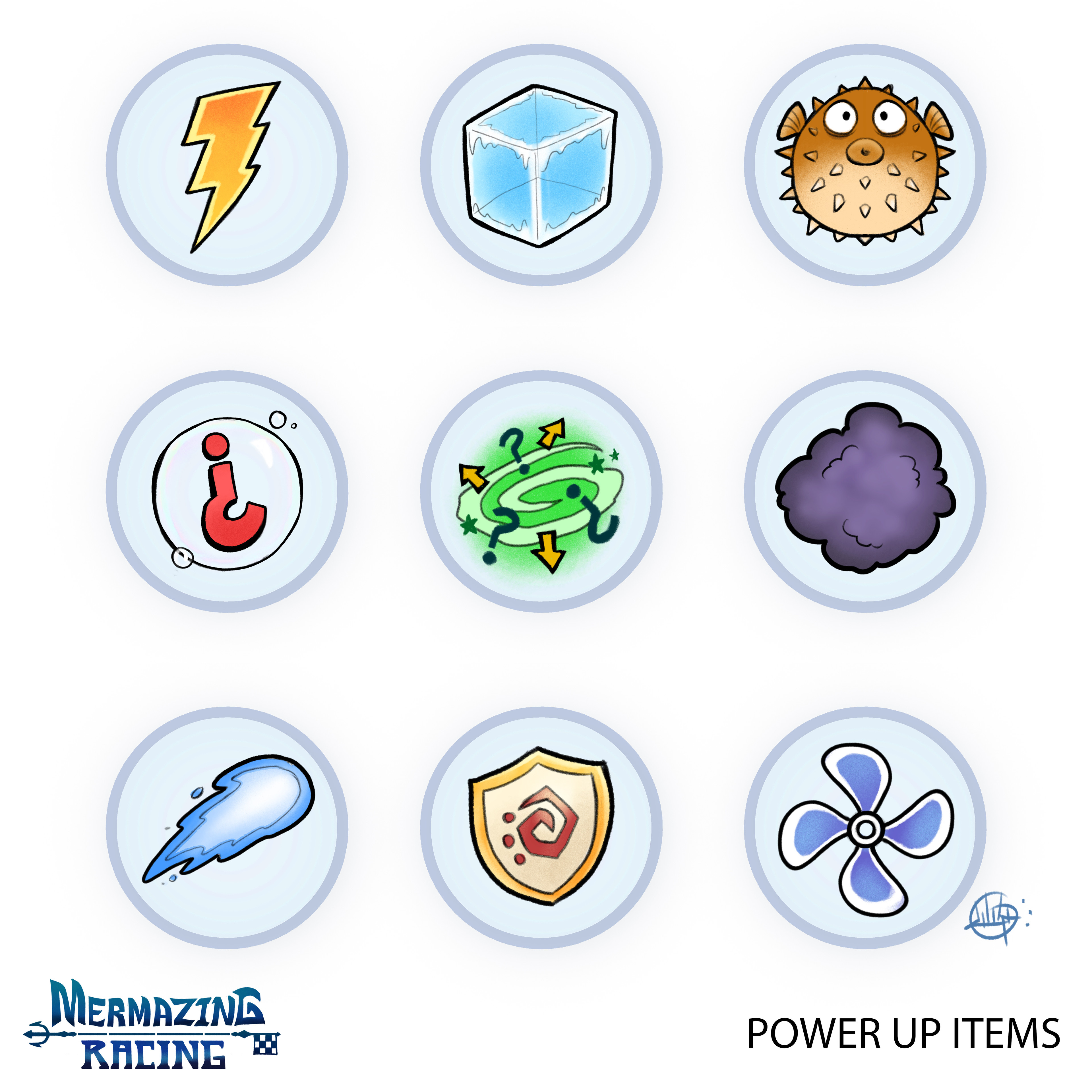 Power Up Items