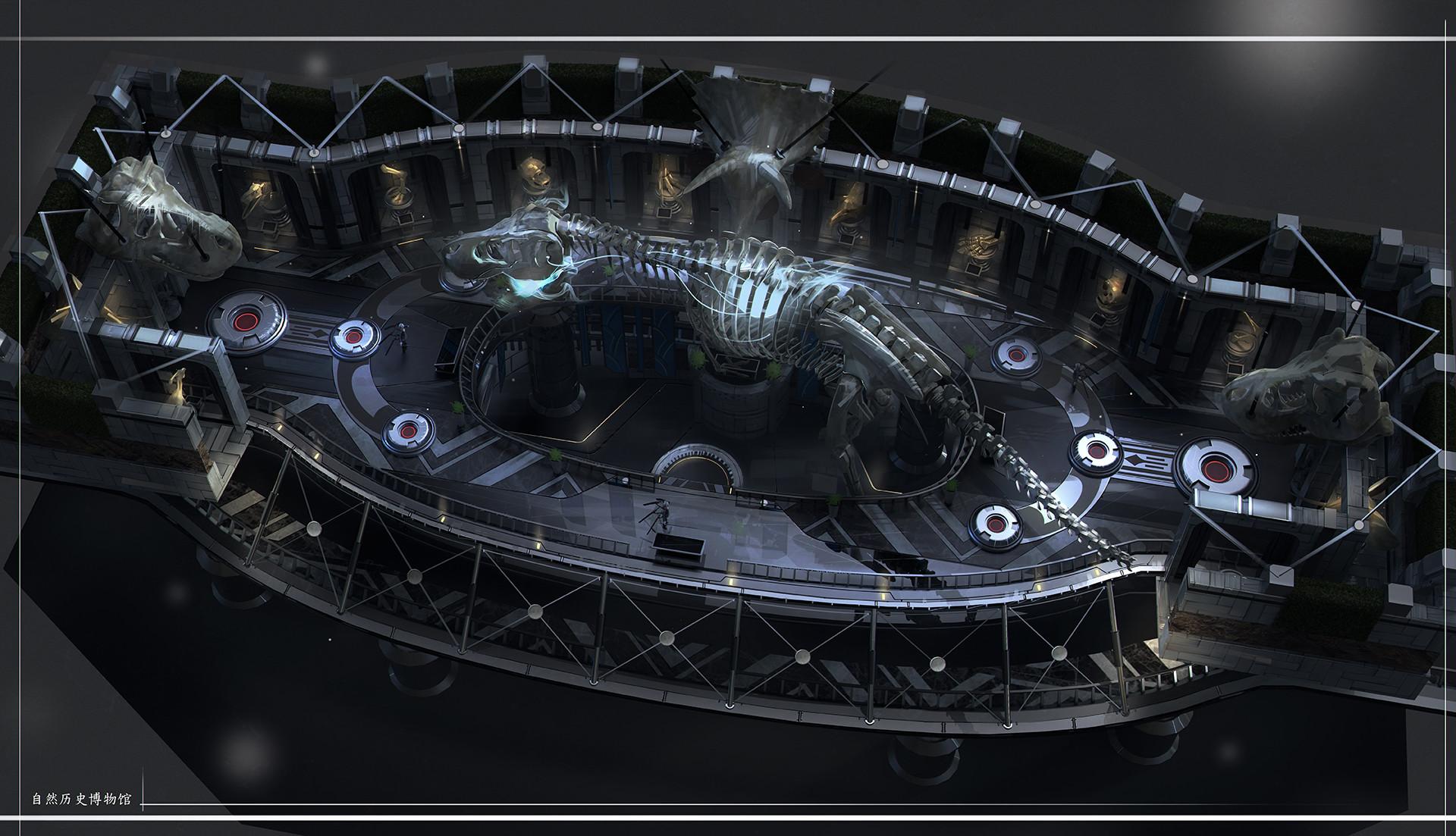 Game Concept Art Environment