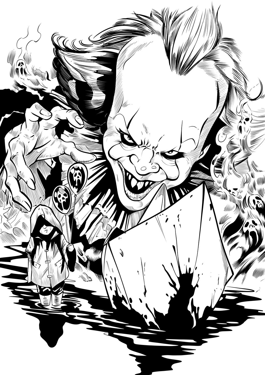 Matt james pennywise by lr