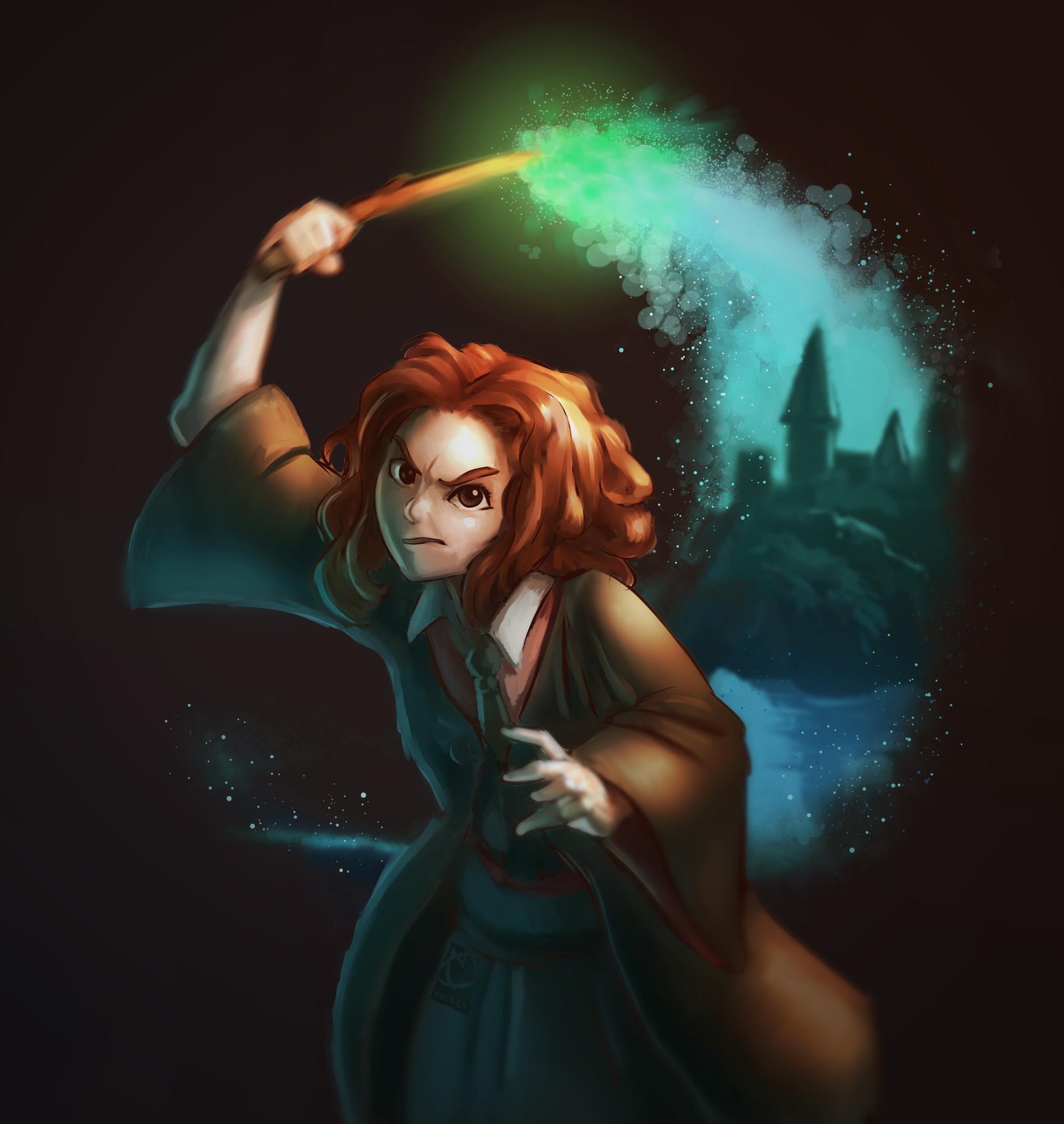 Martin ruiz hermione fanart
