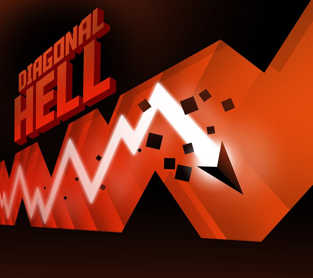 Diagonal Hell Banner