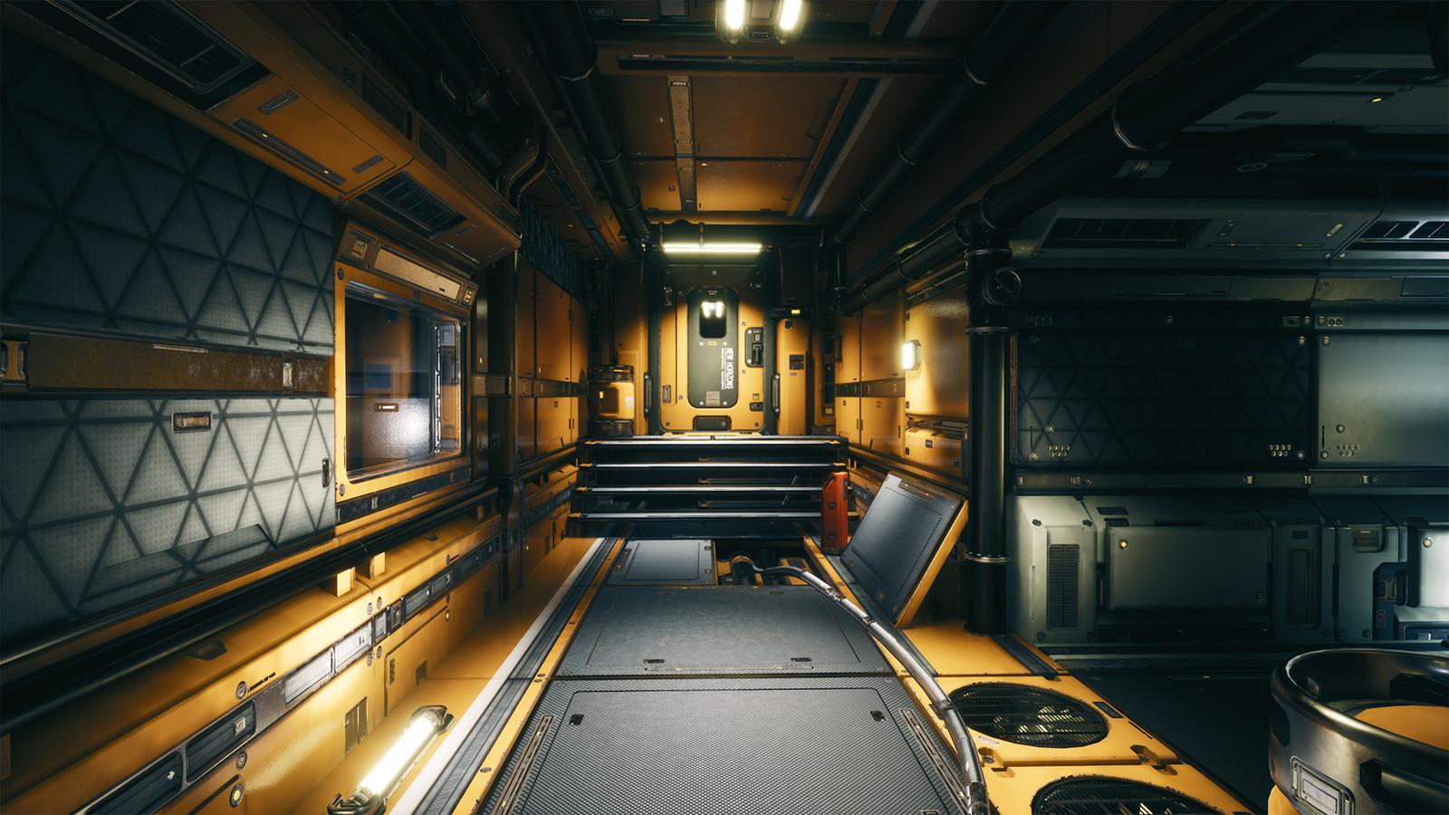 UE4 Modular Sci-Fi Environment Pack