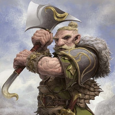 Daniel zrom danielzrom orcquest dwarfwarrior