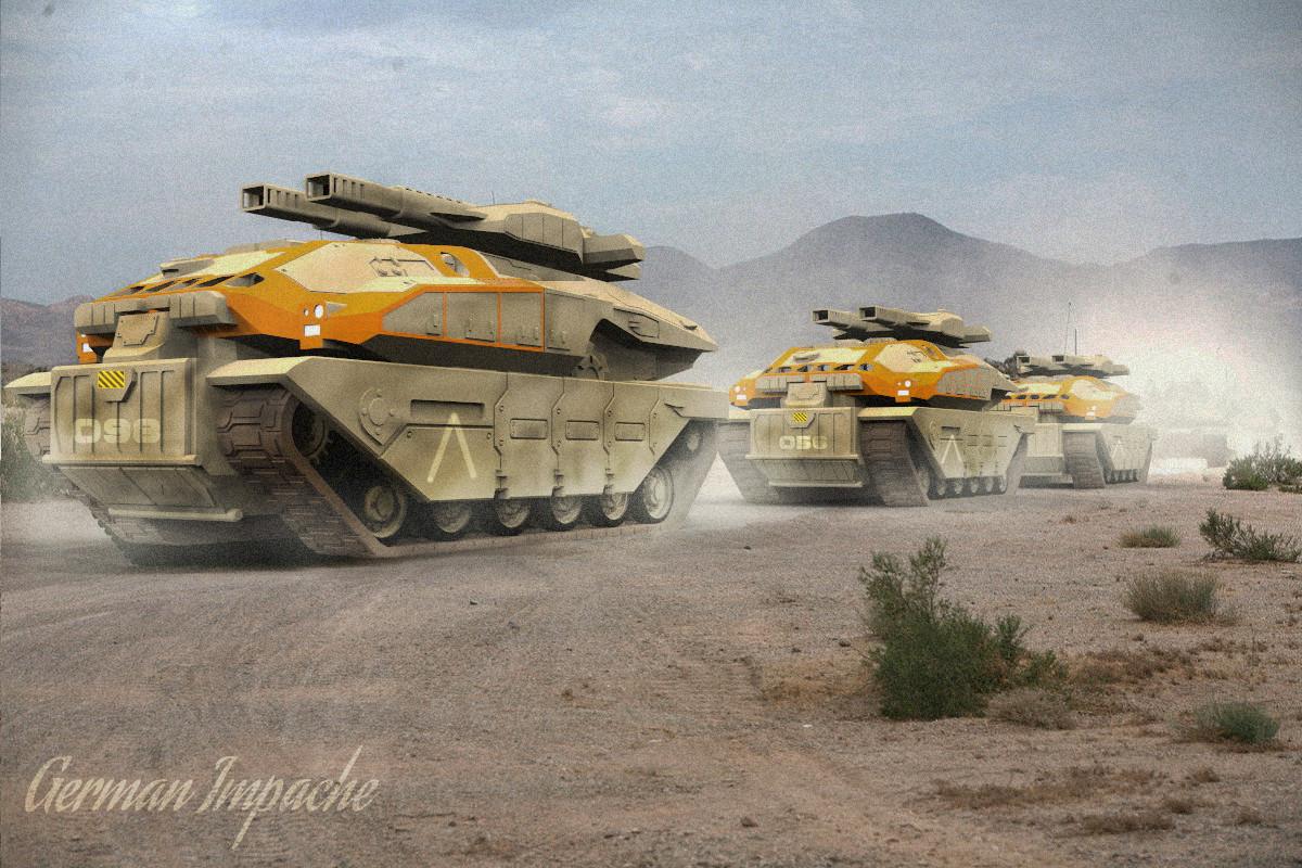 EVO-T Scarabeo platoon
