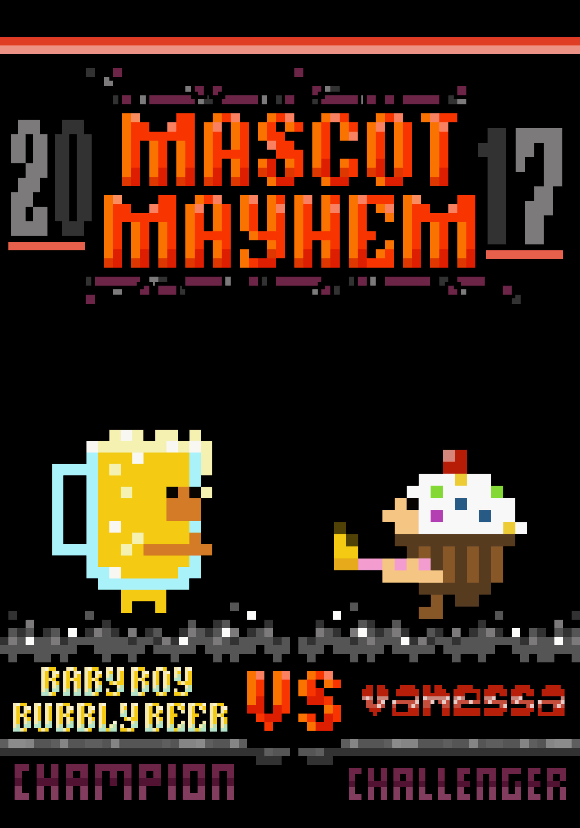 Teaser Poster for Mascot Mayhem