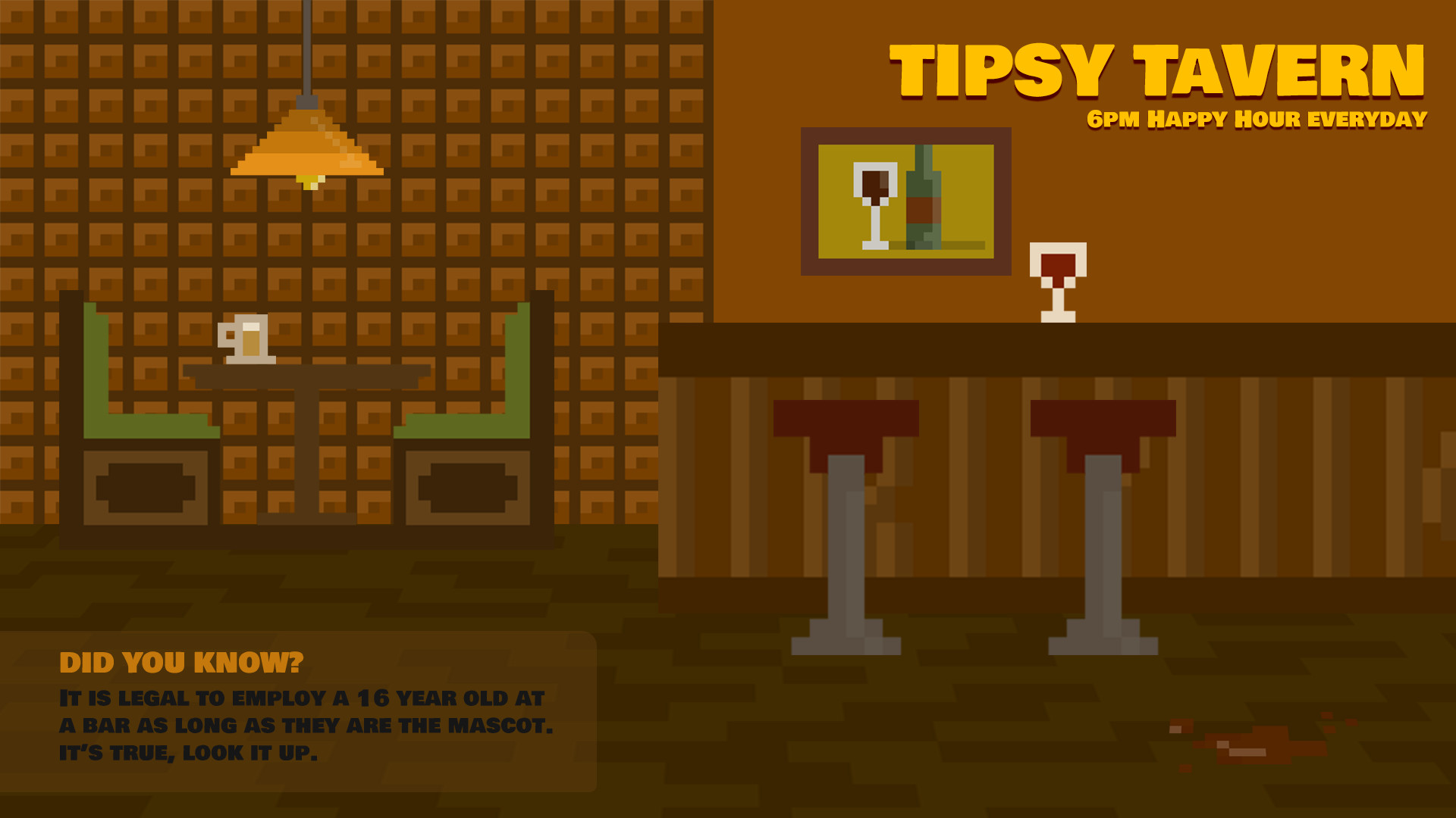 Tipsy Tavern Loading Screen