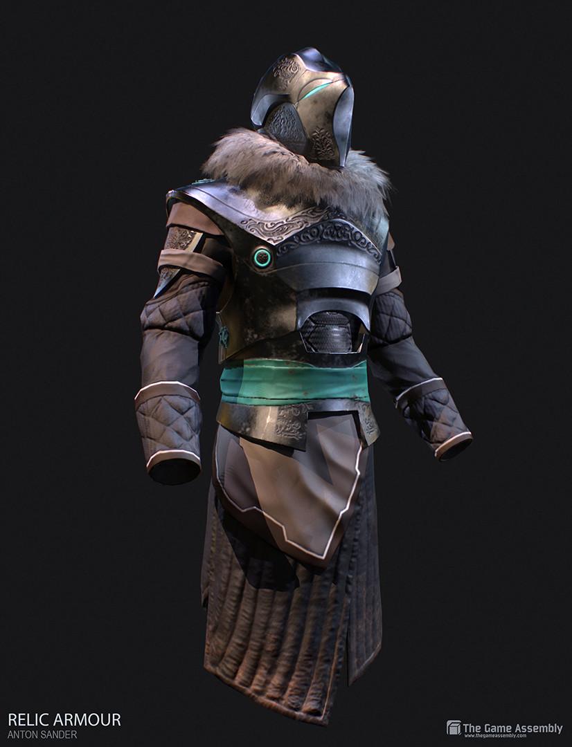 Anton sander relic armour e
