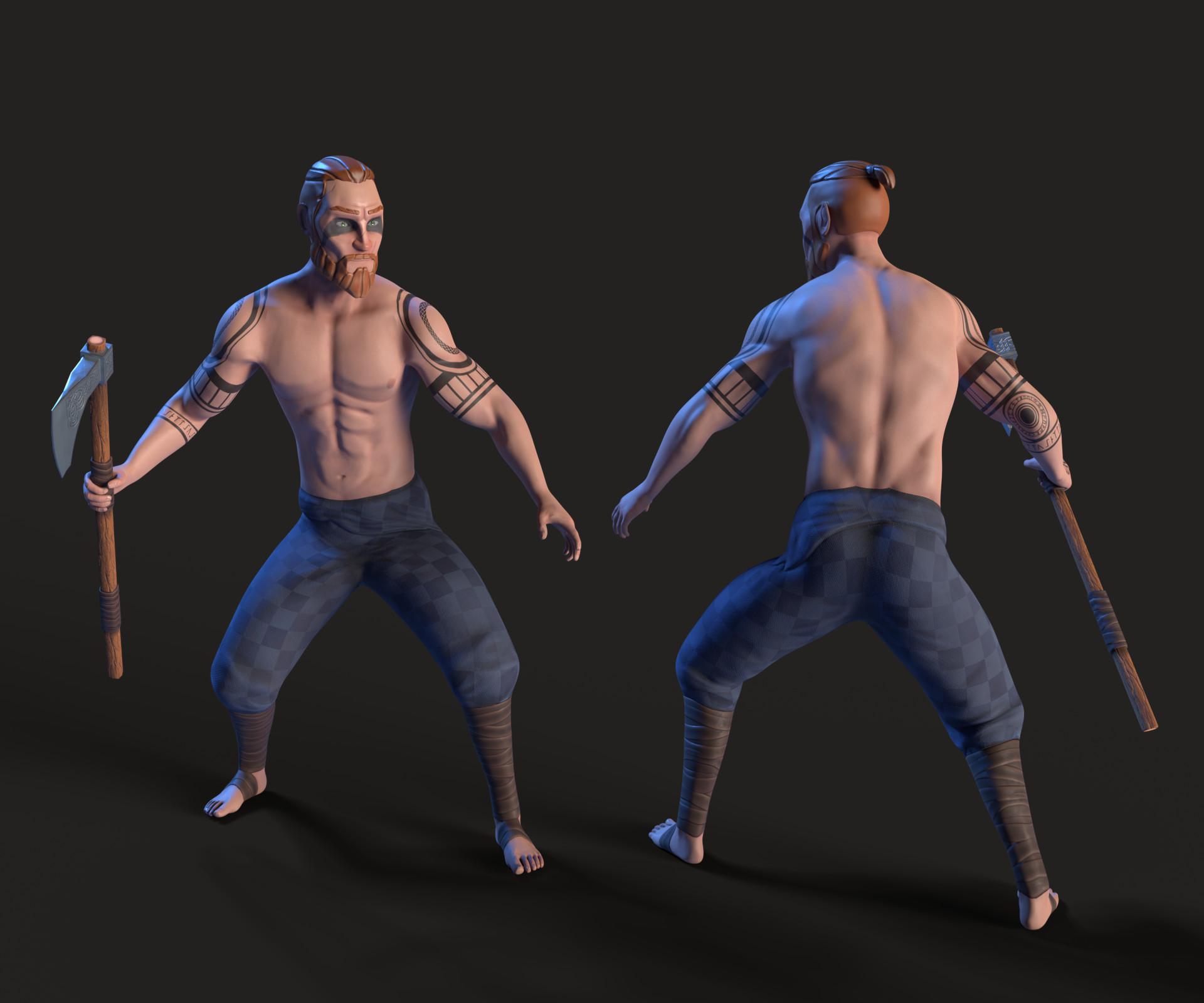 Kalani strange celtic warrior 2