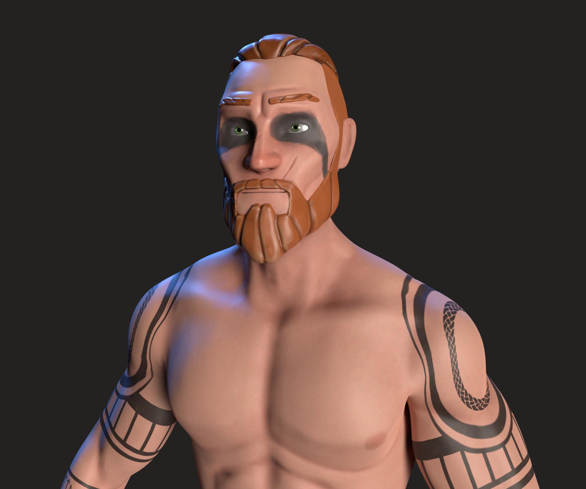 Kalani strange celtic warrior 3