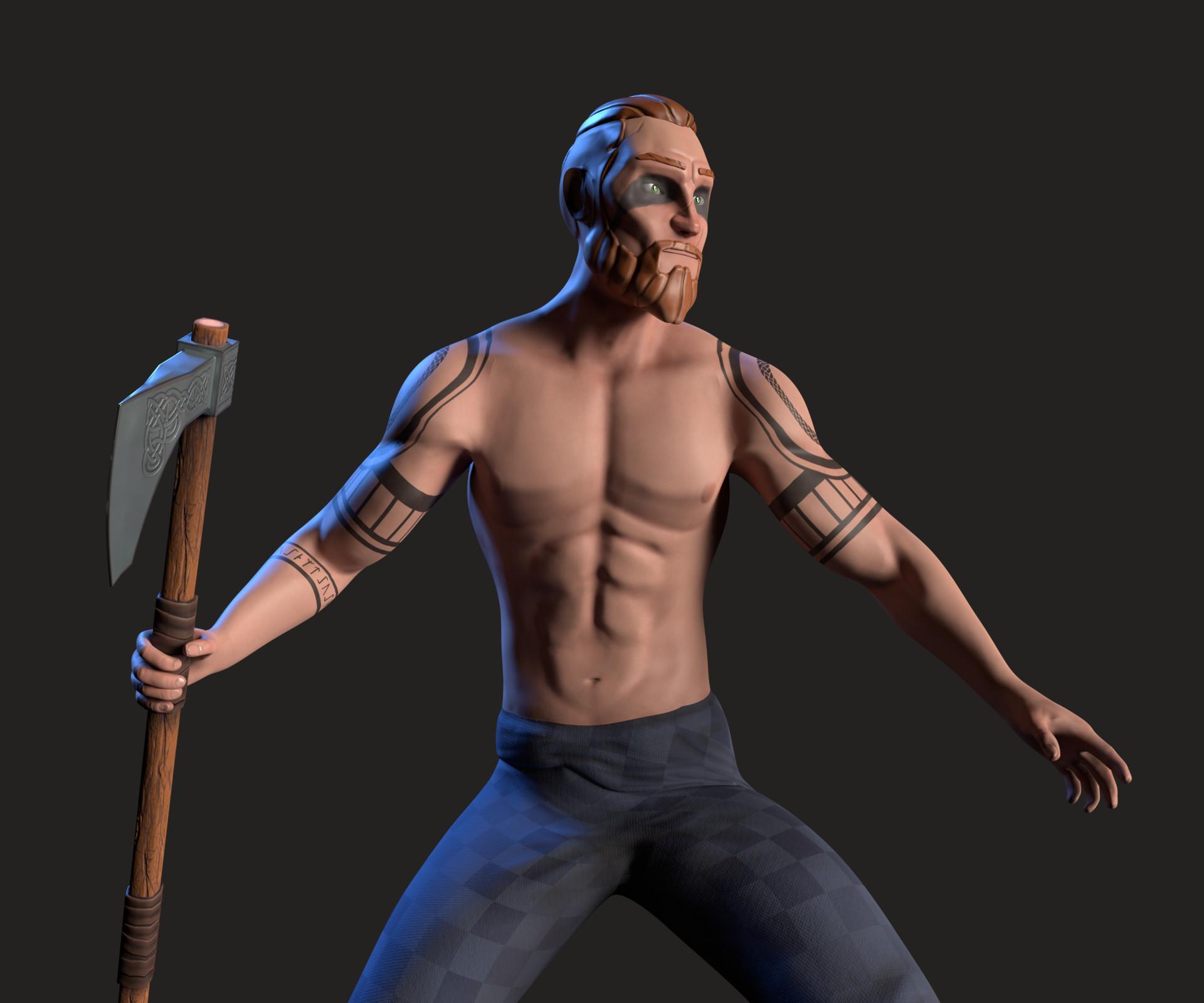 Kalani strange celtic warrior 1
