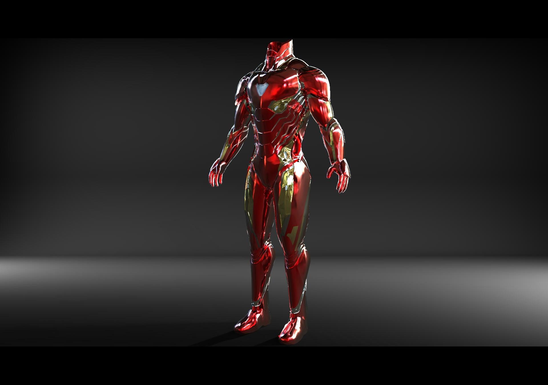 ArtStation - Iron Man Mark 50 (Infinity War) 3D Model