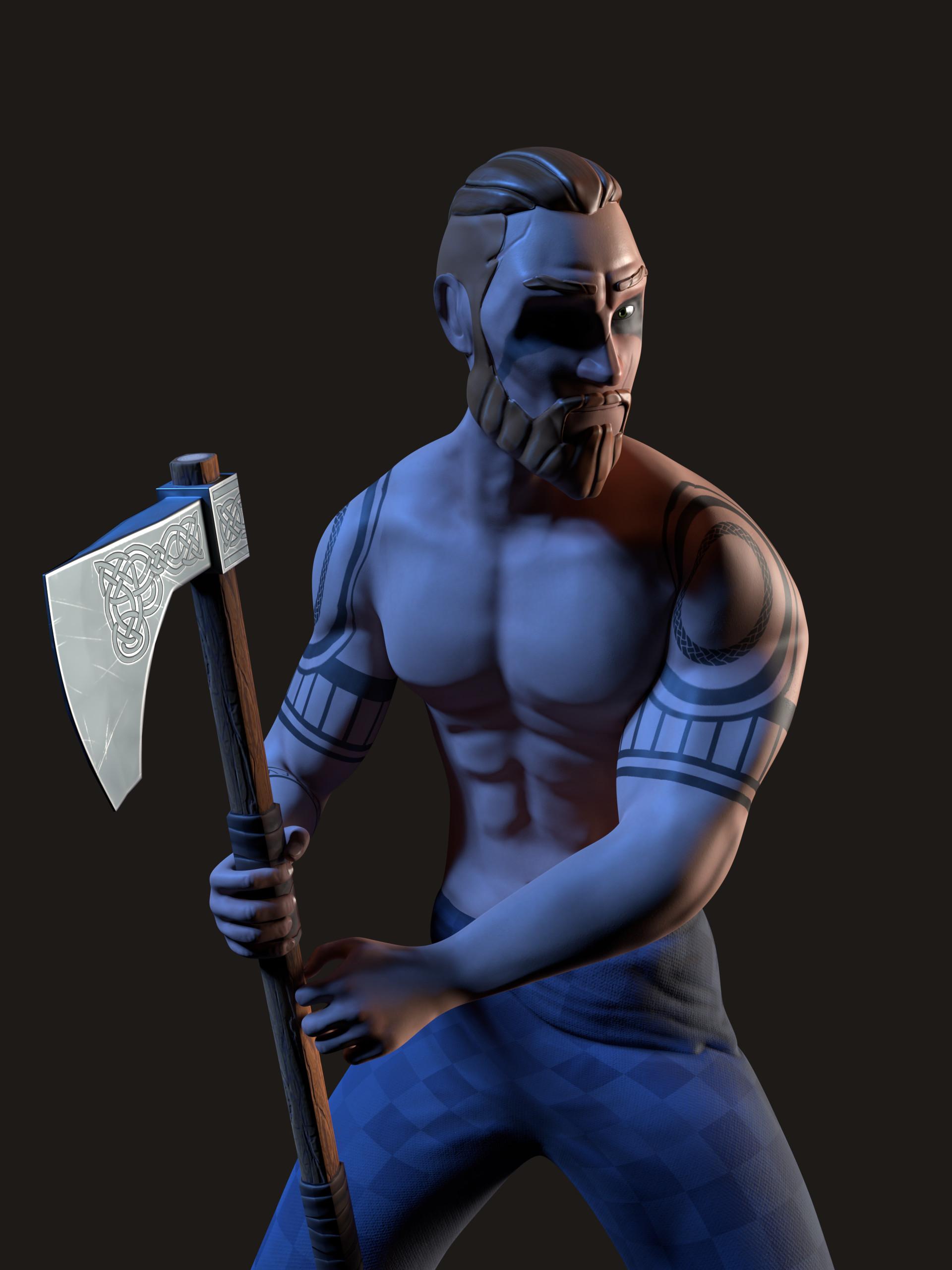Kalani strange celtic warrior 6