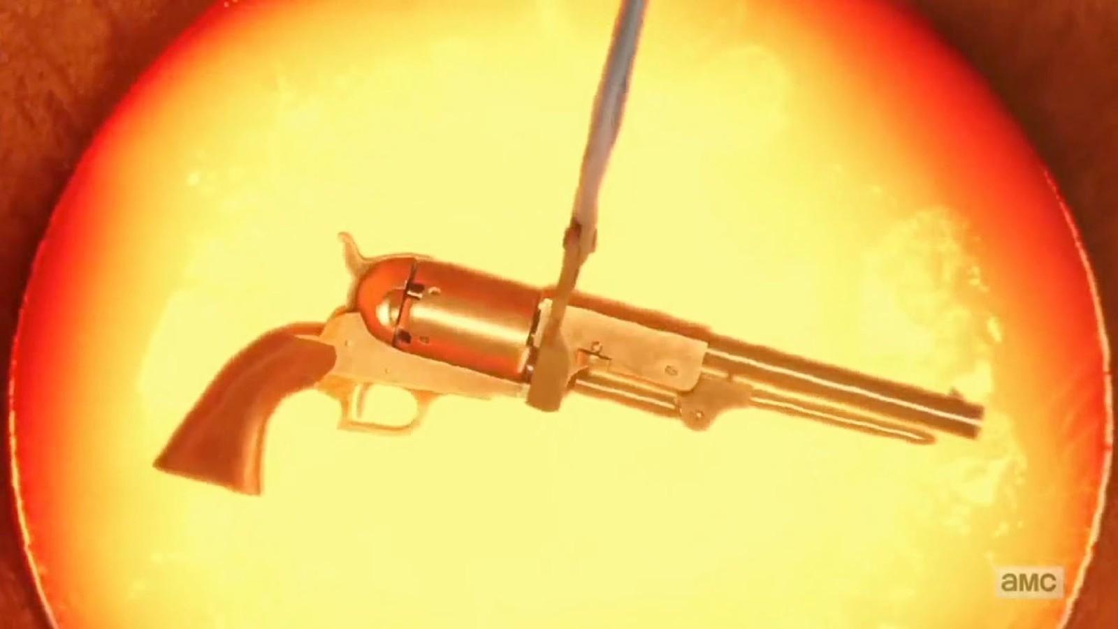 Saint of Killers revolver.