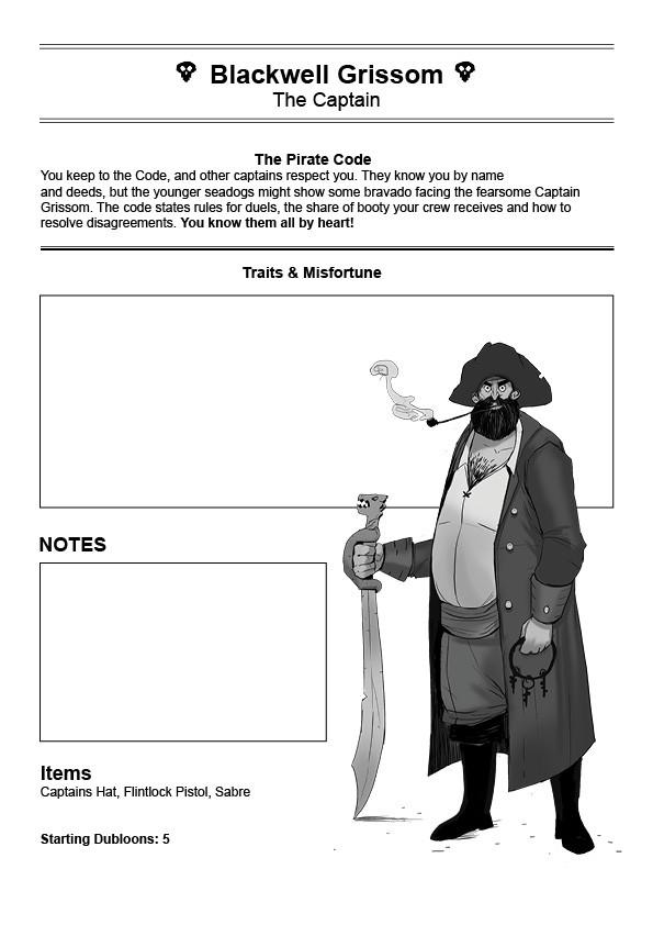 Peter klijn oceansgreed captain sheet