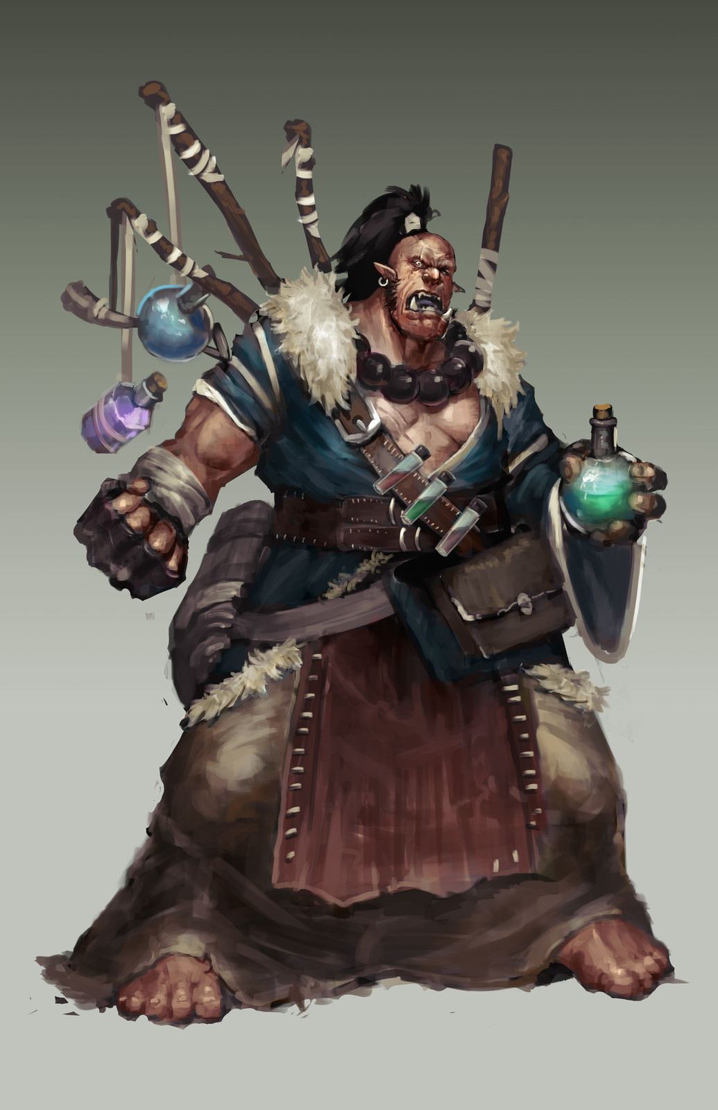 Orc Alchemist