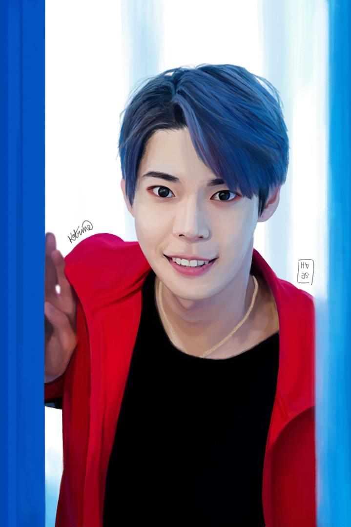 ArtStation - Digital Portrait - NCT Doyoung, You Ying Seah