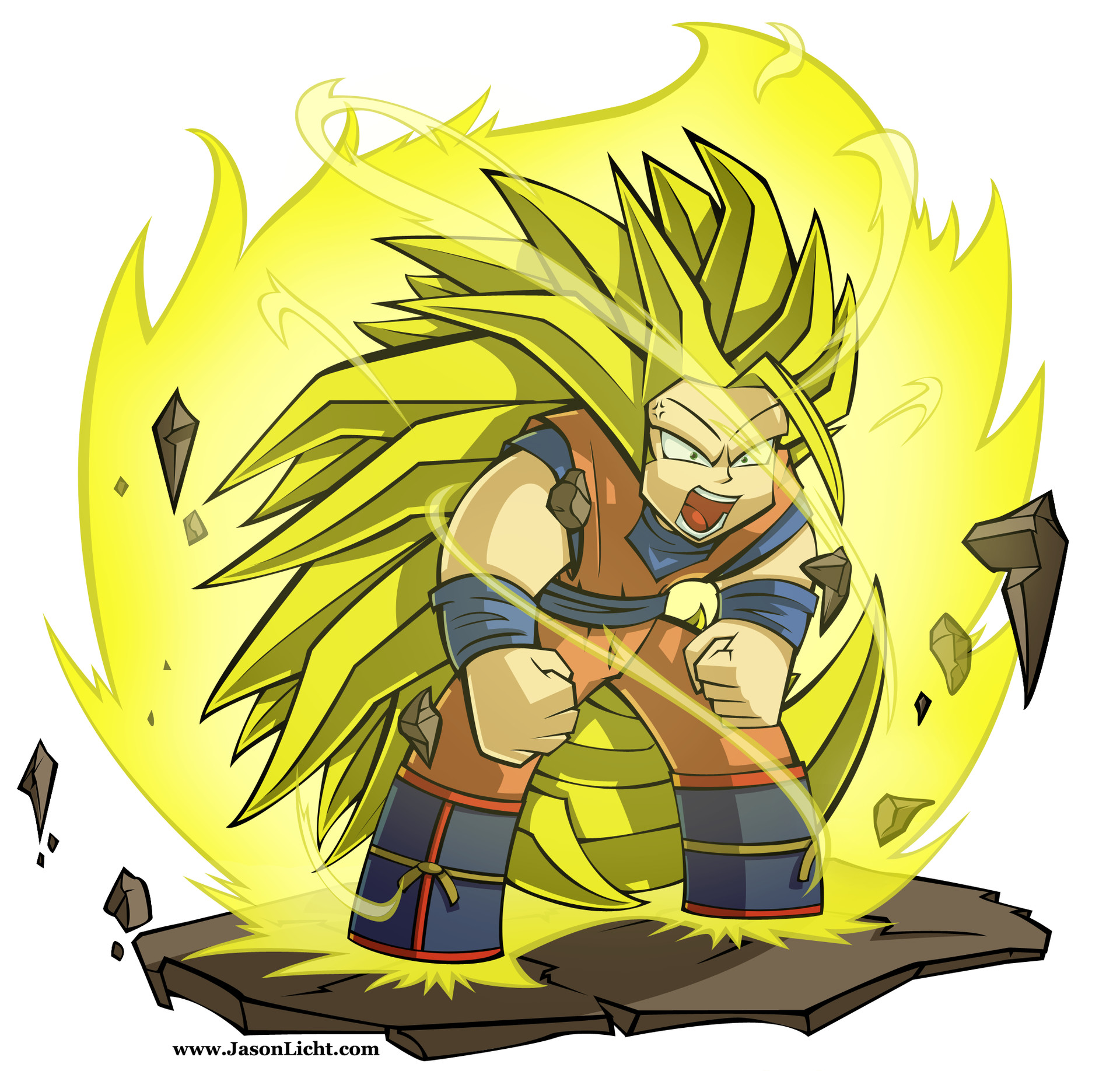 Jason licht gokucolor