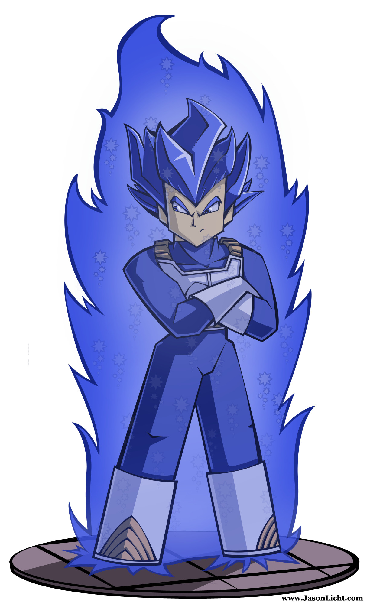 Vegeta Blue Evolved
