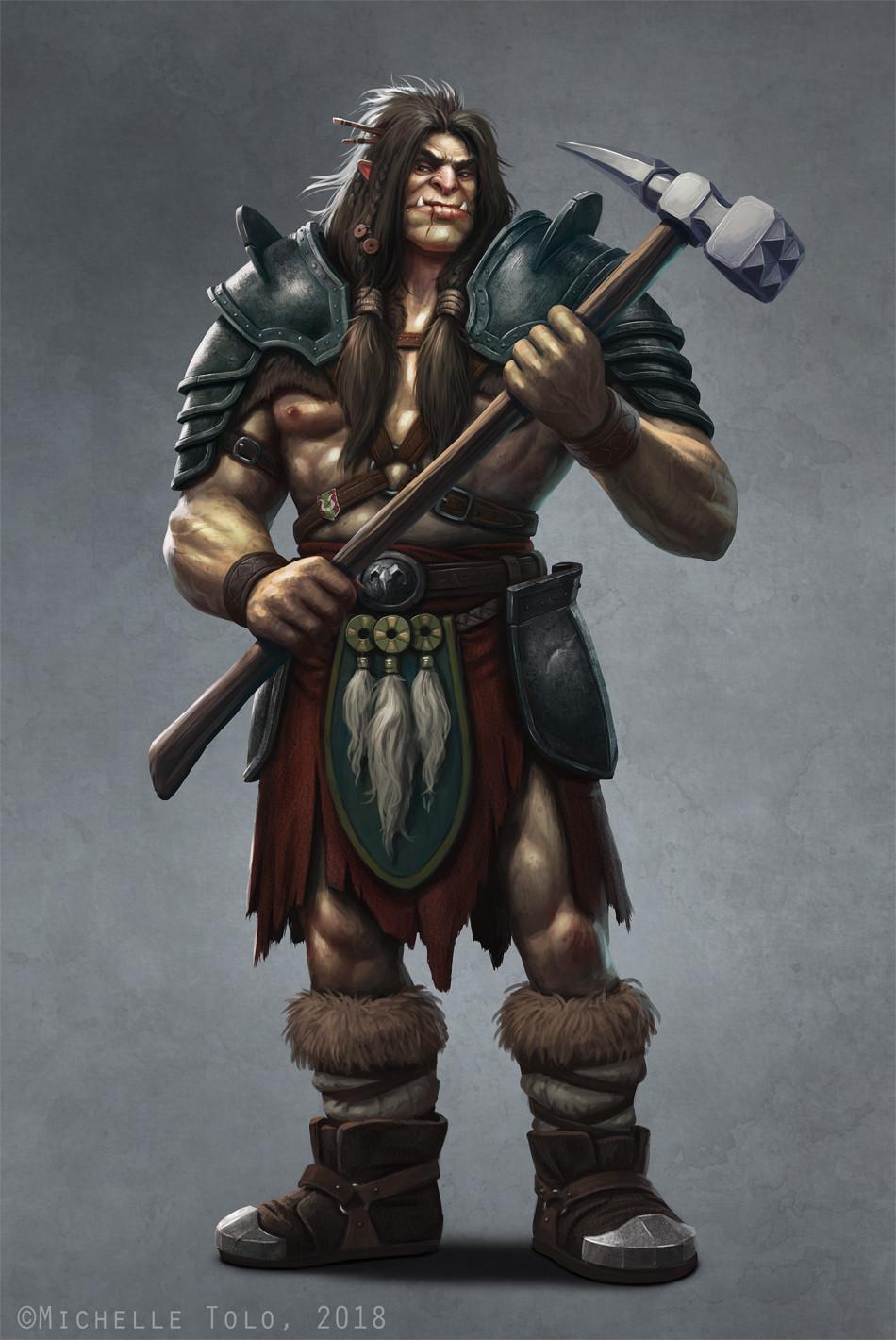 Brahn, the companion and guard.