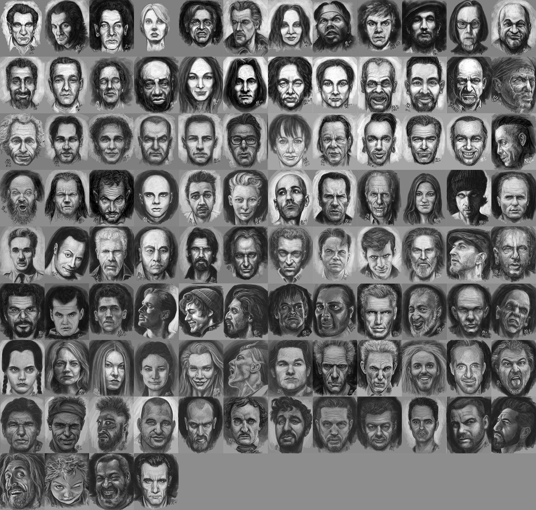 Michal vondracek 100faces