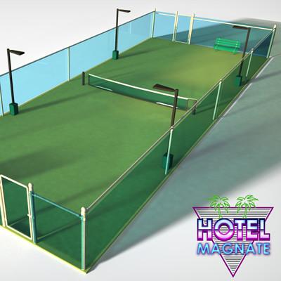 Brandon miles tenniscourt soc