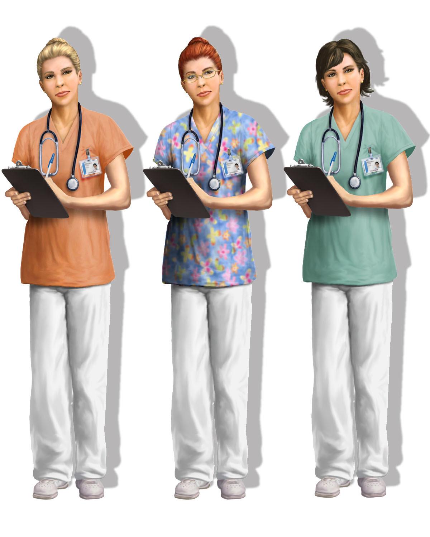 Jeff zugale nurse concept variants 3