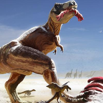 Diego nicolas agustin tiranosaurus rex