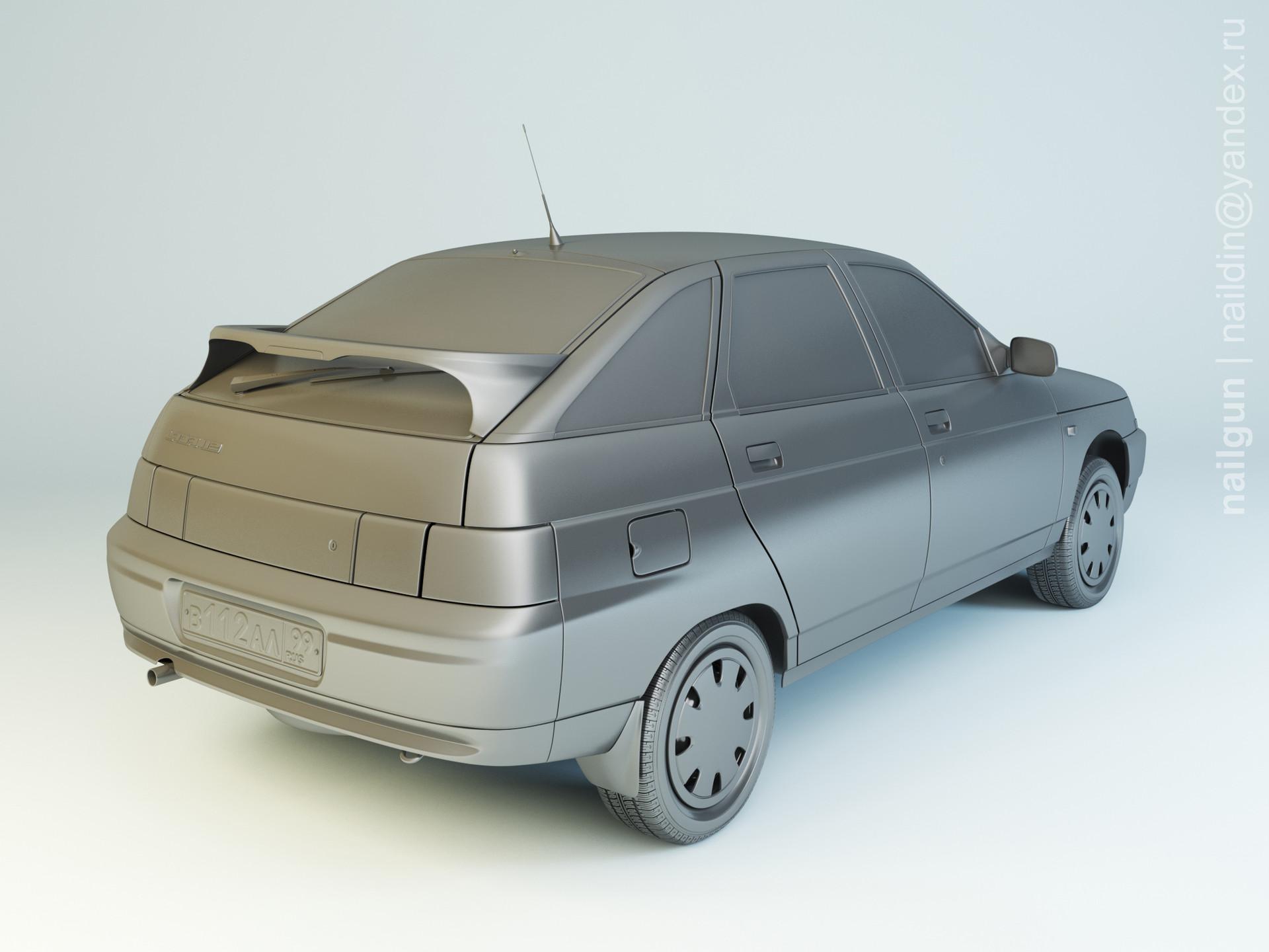 Nail khusnutdinov als 182 005 vaz 2112 modelling 1