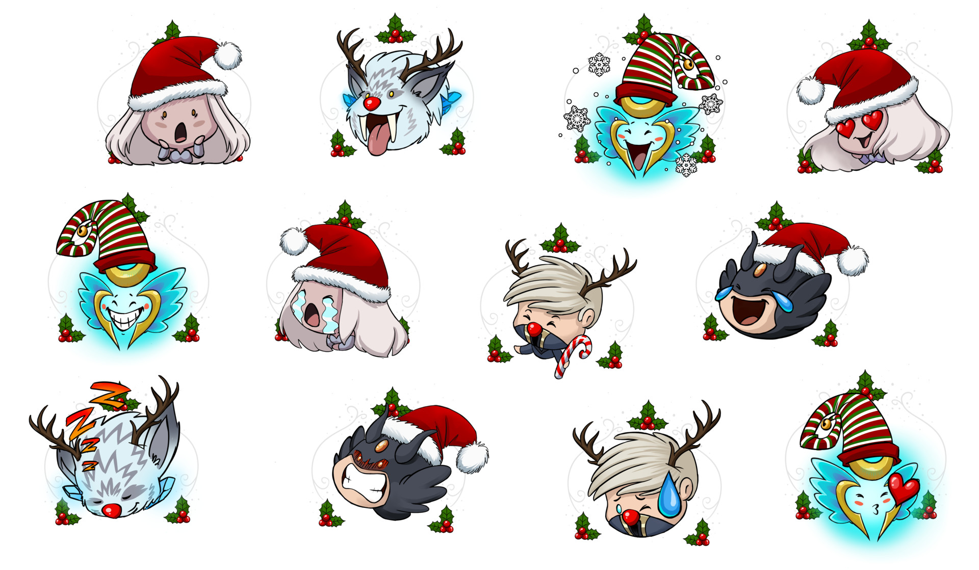 Christmas Discord.Artstation Legacy Of Discord Furious Wings Sticker Set