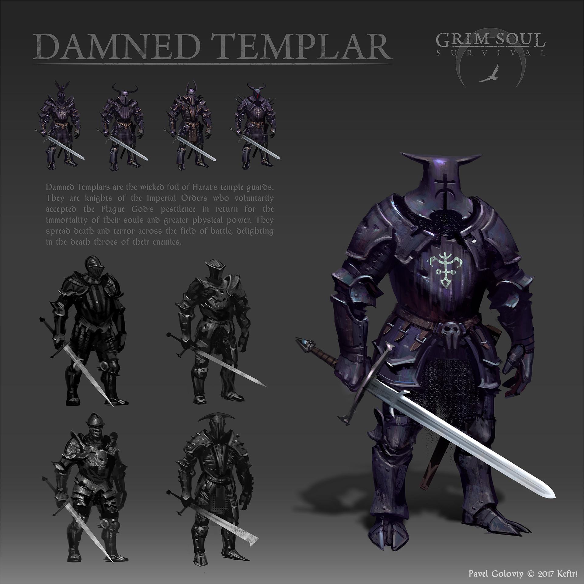 Damned Templar