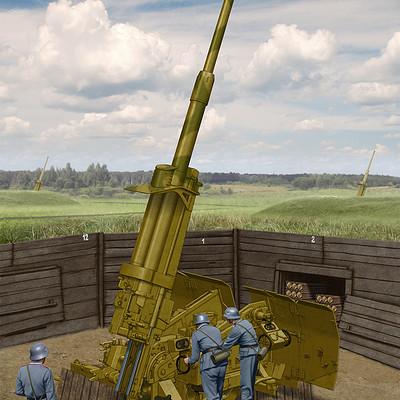 Valery petelin 88mm l71 flak 41