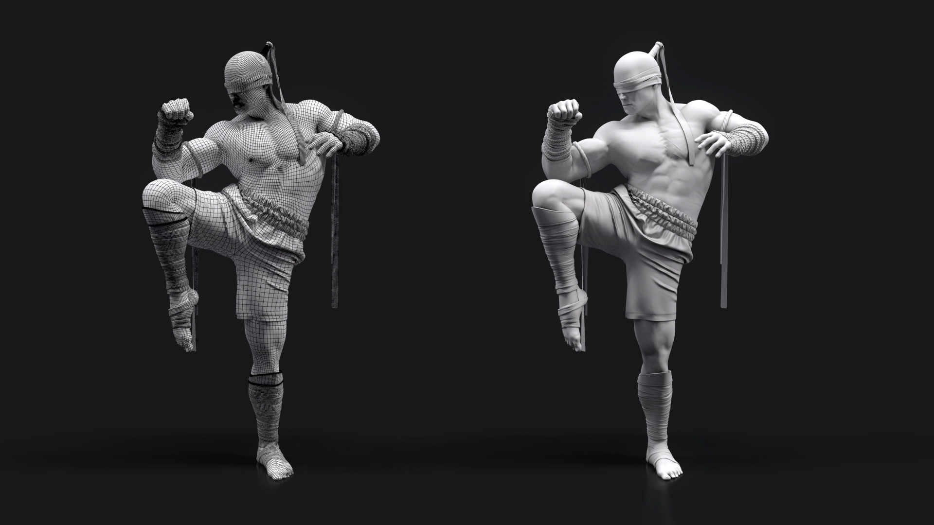 Artstation I Ll See This Through Lee Sin Muay Thai Reworked