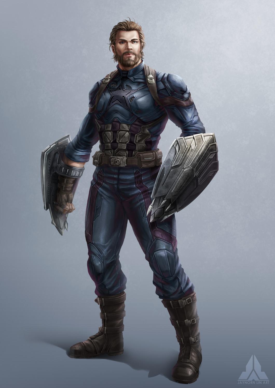 Jaynorn Lin Avengers Infinity War Captain America