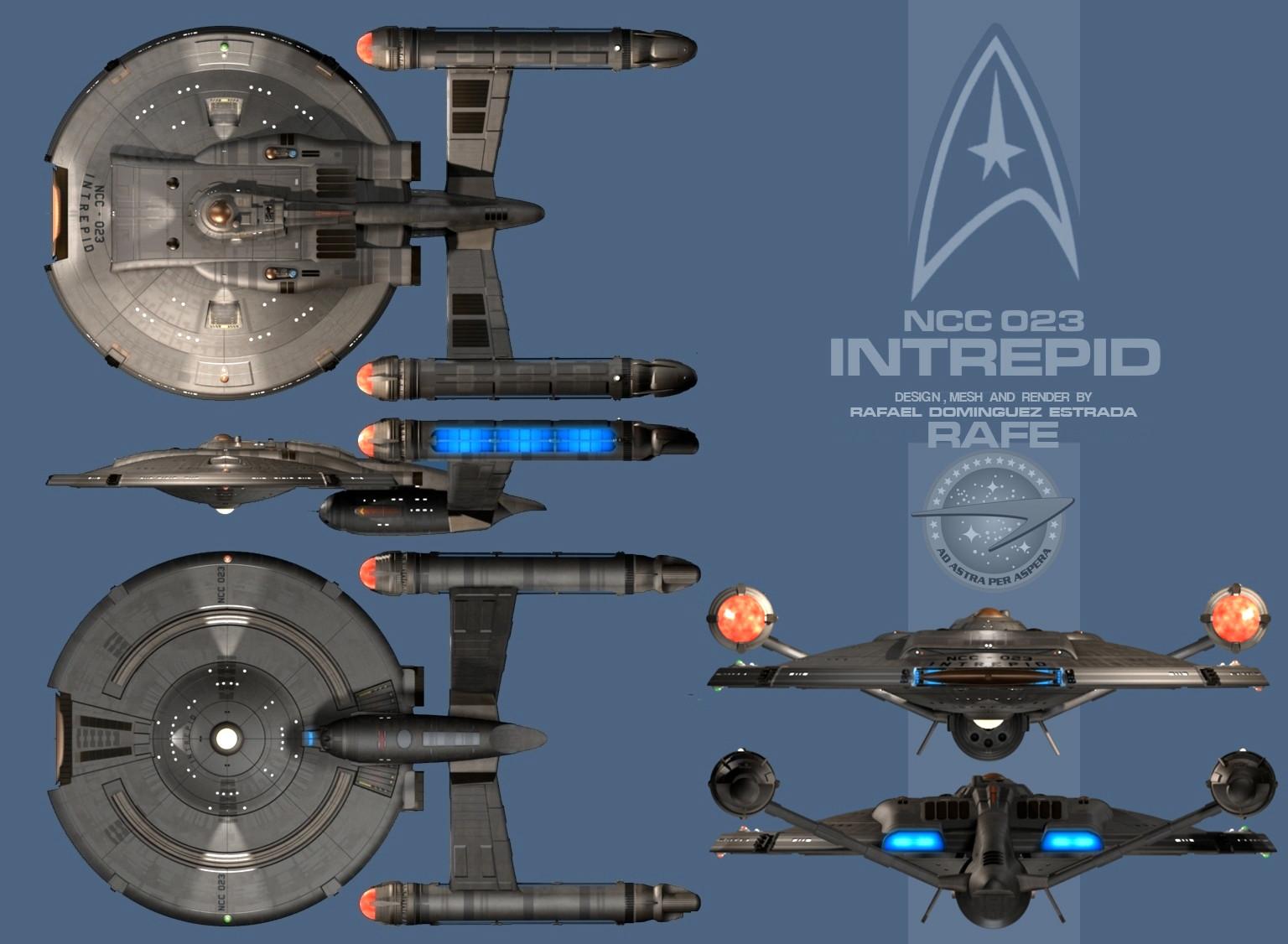 NX Star Trek design by RAFE