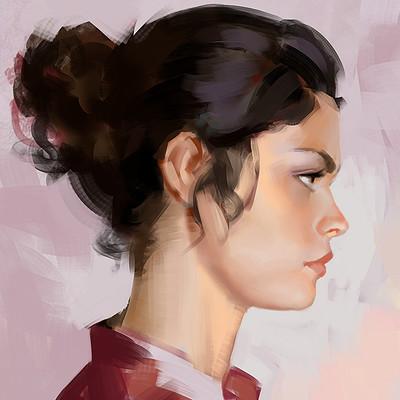 Ibrahem swaid portrait study 13