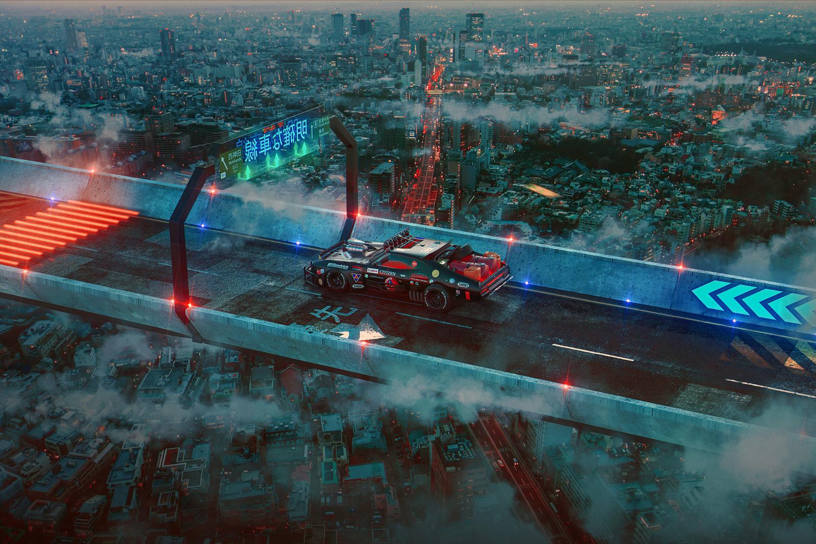 Mad Max x Akira