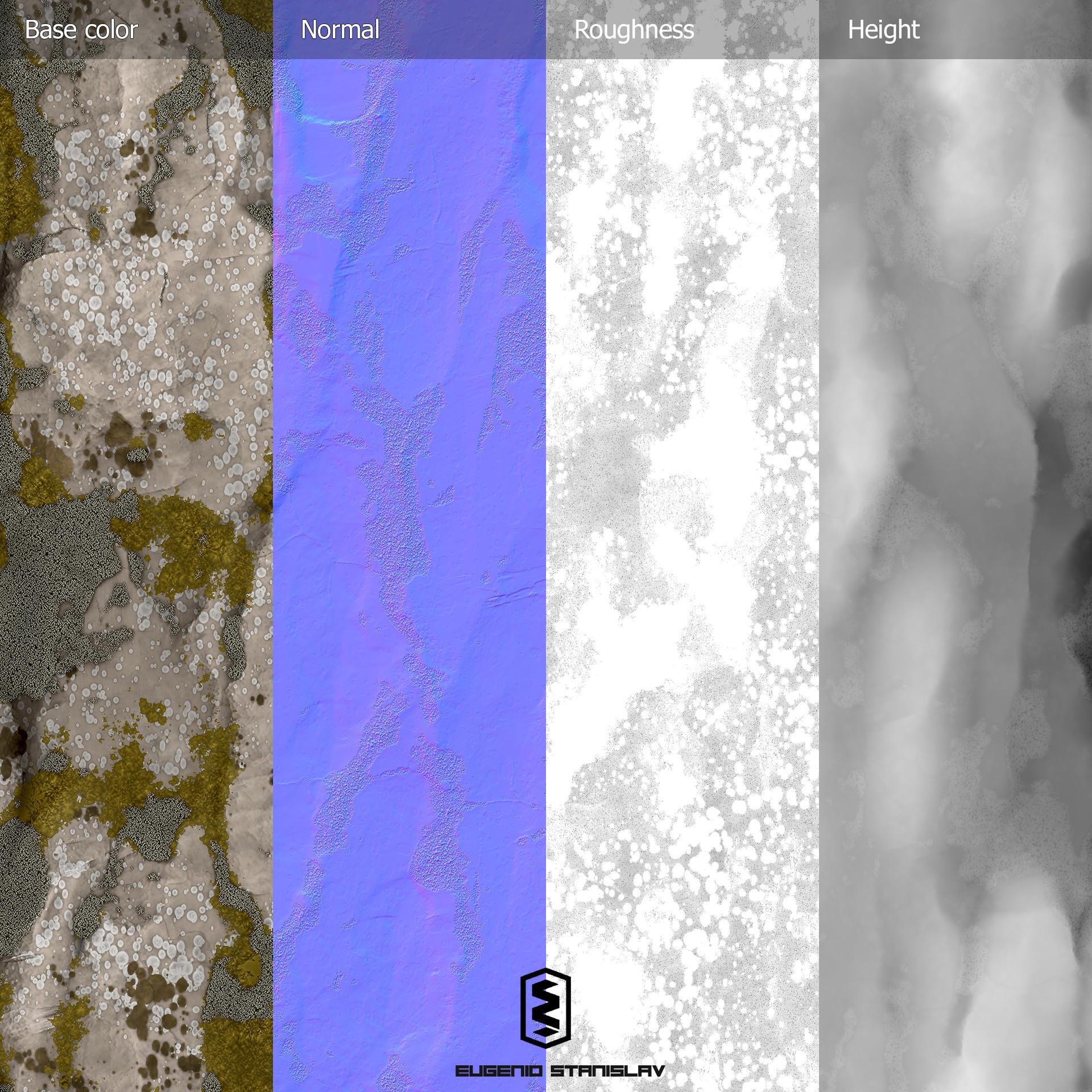 Eugenio stanislav forest rock maps