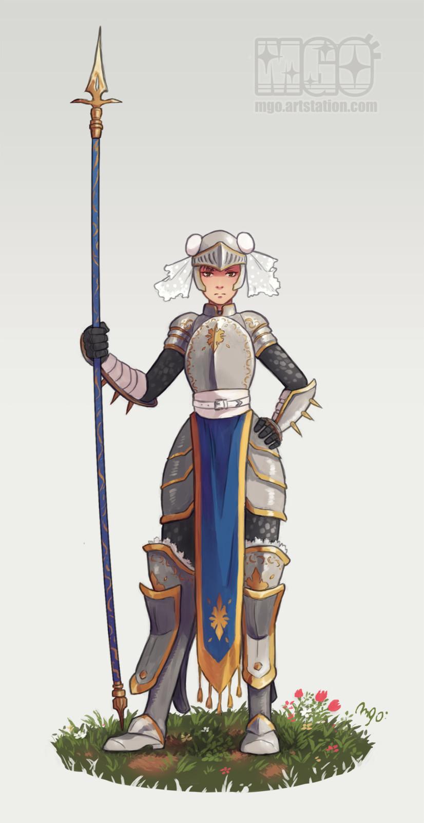 Knight Chun-li