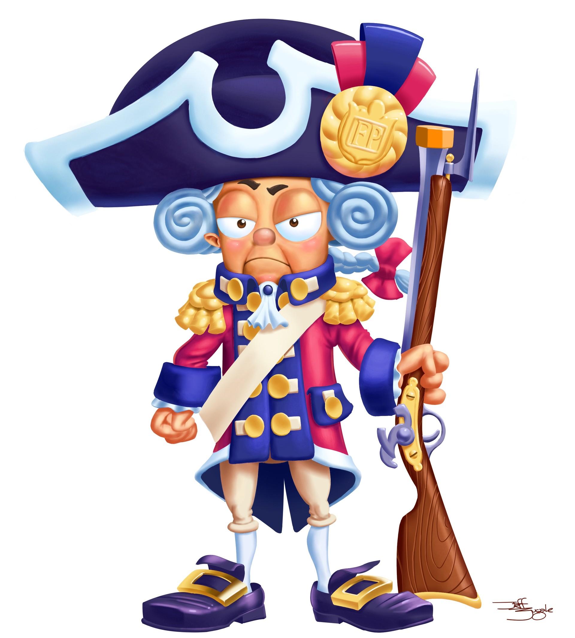 Jeff zugale pirate redcoatrandy