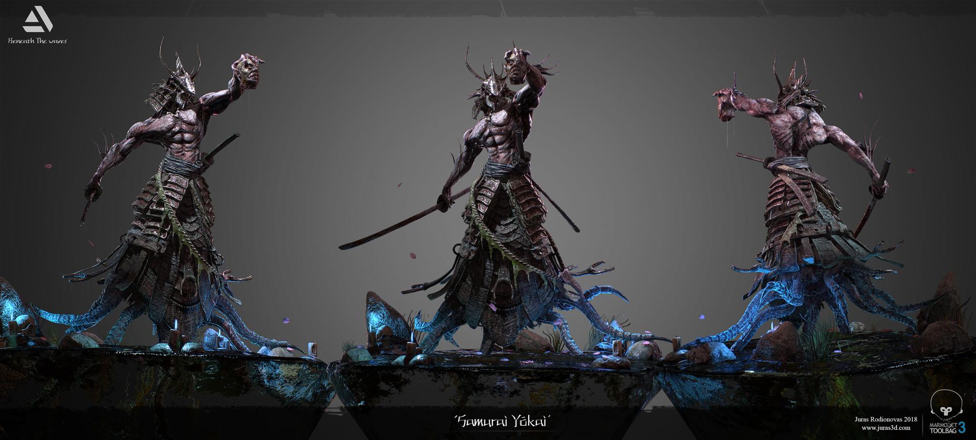 Juras rodionovas samurai yokai presentation