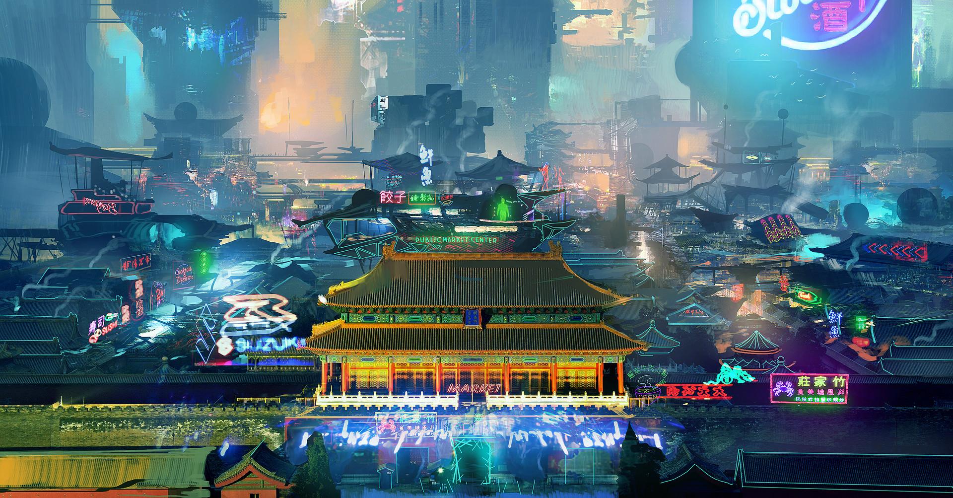 Samuel silverman forbidden city black market concept