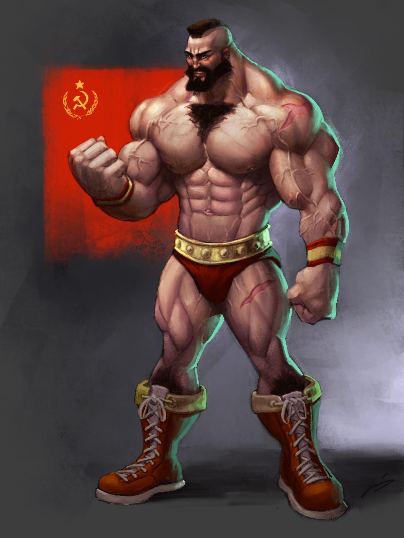 Artstation Cdc Street Fighter Zangief Jesus Medina