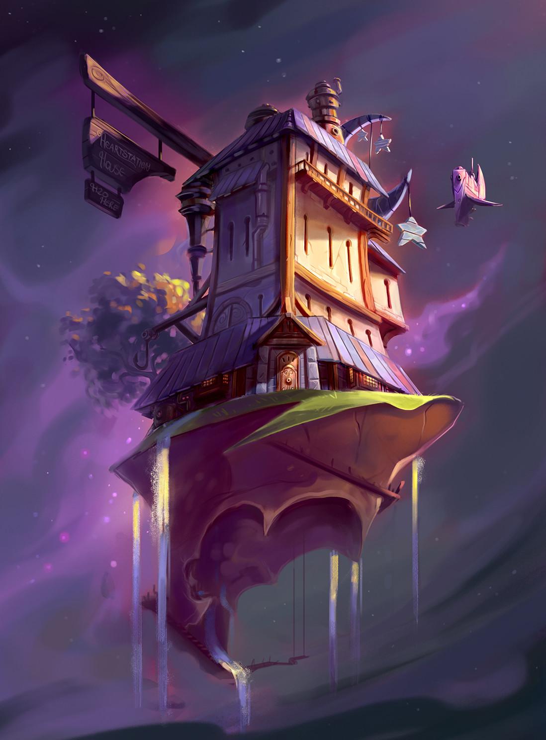Hearthstation House