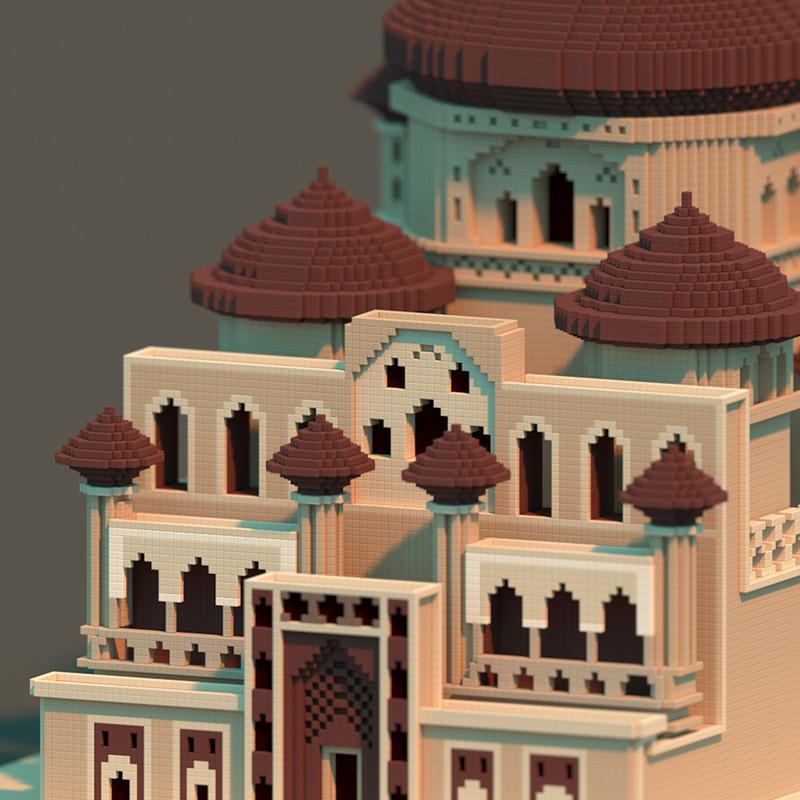 Prince of Persia Castle