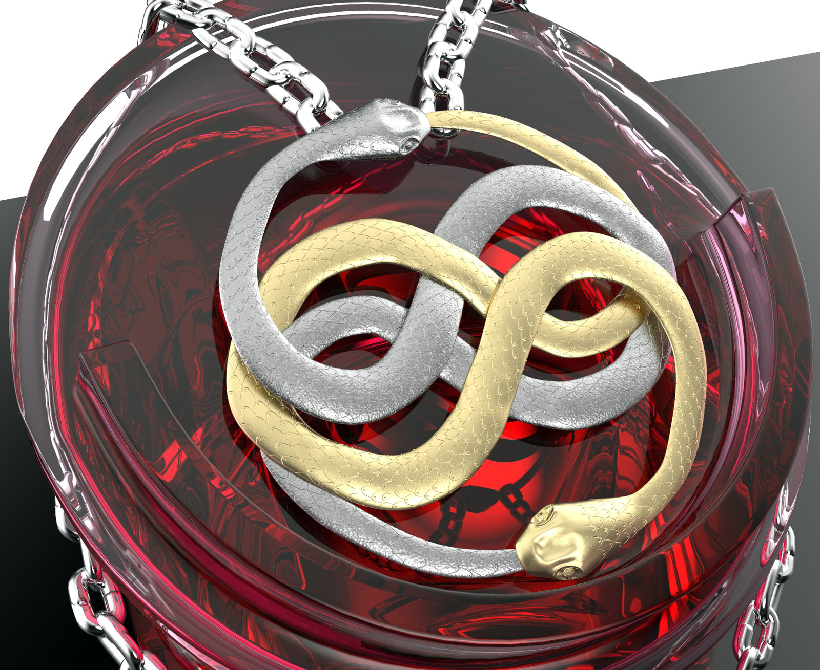 The Auryn Necklace from the Neverending Story