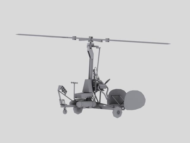 ArtStation - Mad Max 2 Game Ready Gyrocopter (WIP), Aaron Deneau